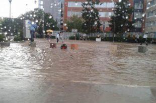 Instituti Hidrometeorologjik i Kosovës paralajmëron mundësinë e përmbytjeve të vogla si shkak i reshjeve të dendura të shiut