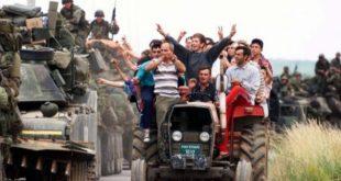 """Nesër në sheshin """"Skënderbeu"""" do të mbahet tubimi qendror i shënimit të 20-vjetorit të hyrjes së trupave të NATO-s në Kosovë"""