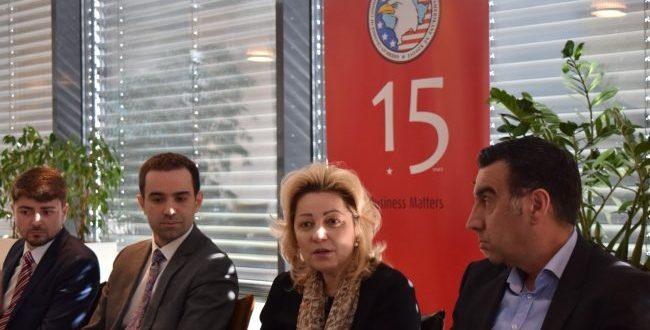 Anëtarët e Odës Ekonomike Amerikane kanë pritur sot në një takim shefen e Zyrës së BE-së, Nataliya Apostolova