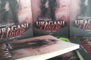 """Doli nga shtypi libri me poezi, """"Uragani i Lirisë"""", i autorit, Milazim Kadriu"""