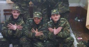 7 ushtarët grekë me origjinë shqiptare dënohen nga dy muaj burg për pozimin e shqiponjës