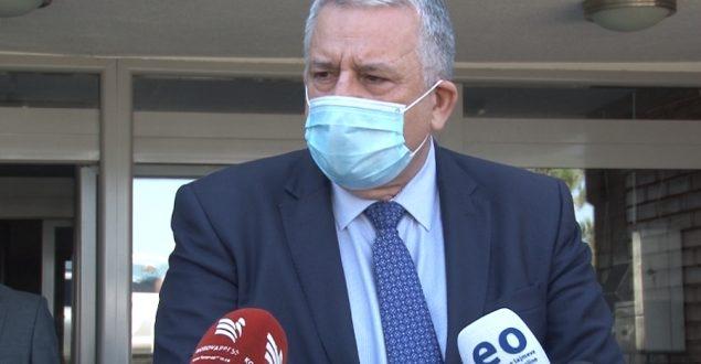 Ministri i MPB-së Agim Veliu, vizitoi Inspektoratin Policor të Kosovës(IPK)
