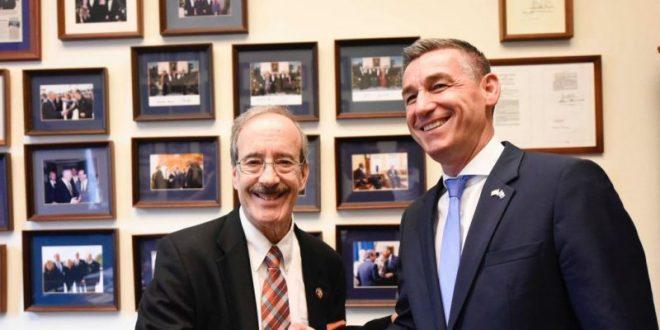 Kryekuvendari Kadri Veseli falënderoi kongresmenin Engel për kontributin që i ka dhënë dhe po i jep Kosovës