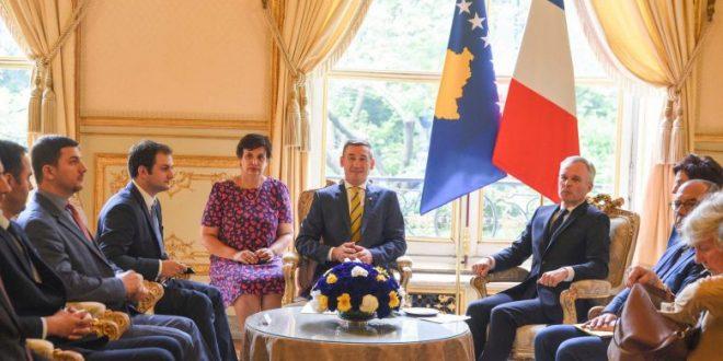 Kryekuvendari, Kadri Veseli: Fanca përkrahë Kosovën në integrimet evropiane