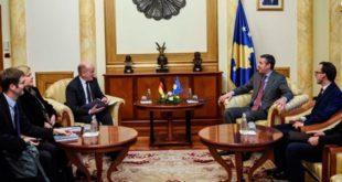 Kryekuvendari Veseli, priti në takim drejtorin për Ballkanin Lindor, Kristian Hellbah