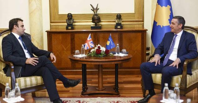 Kryekuvendari Veseli dhe ambasadori O'Connell diskutojnë për thellimin e raporteve midis dy shteteve
