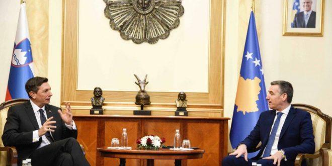 Kryekuvendari Veseli: Sllovenia në vazhdimësi ka qenë përkrah Kosovës në të gjitha proceset e saj historike