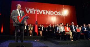 Lëvizja Vetëvendosje ka rizgjedhur sërish kandidat për kryetar të Komunës së Prishtinës, Shpend Ahmetin