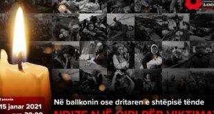 Të premten në orën 20:00 ndizen qirinj në nderim të viktimave të gjenocidit serb në Kosovë