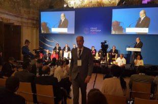 Ymeri merr pjesë në forumin ndërkombëtar 'Crans Montana'