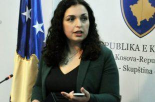 Vjosa Osmani thotë se LDK nuk po e fton atë që të marr pjesë në takimet e Kryesisë së partisë nga muaji mars i këtij viti