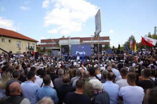 Kandidatja e LDK-së për kryeministre, Vjosa Osmani, është zotuar se vetëm edhe pak ditë e ndajnë nga fitorja në zgjedhjet e 6 Tetorit