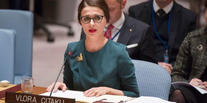 Reagon ambasadorja Vlora Çitaku pas shpërblimit të Peter Handke nga Komiteti Nobel, e quan vendim i turpshëm