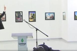 Goditet për vdekje ambasadori i Rusisë në Turqi, Andrej Karlov