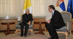 Serbia falënderon Vatikanin