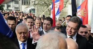 Kryeministri i Serbisë, Aleksandër Vuçiq ka qëndruar për vizitë në pjesën veriore Kosovës