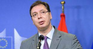 Vuçiq thotë jam i shqetësuar me përpjekjen e shqiptarëve për të marrë një vendim për shfuqizimin e Listës Serbe