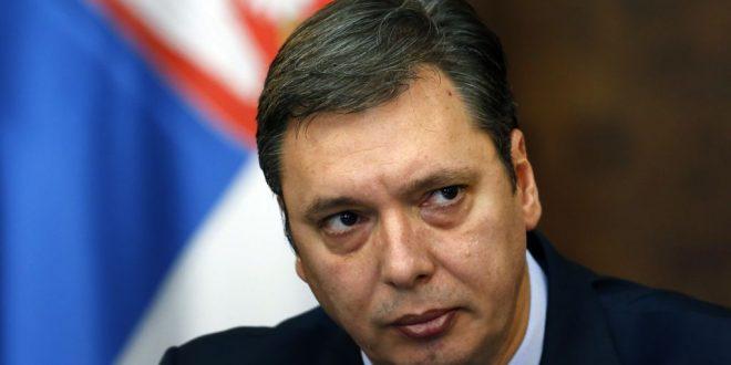 Kryetari serb, Aleksandar Vuçiq thotë se nuk do të lejojë askënd ta urdhërojë se cila do të jetë zgjidhja