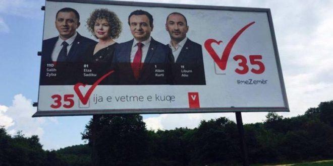 Vetëvendosja po zhvillon fushatë për kandidatët e vet edhe në Preshevë të Kosovës Lindore