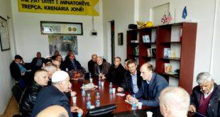 Visar Ymeri me deputetin, Faton Topalli kanë takuar disa nga minatorët e ndërmarrjes Trepça