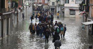 Qeveria italiane shpall gjendje të jashtëzakonshme në Venecia, si shkak i përmbytjeve të mëdha