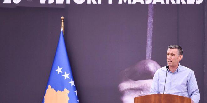 Veseli: Vrasja masive e njerëzve në Burgun e Dubravës është dëshmi e organizimit të gjenocidit serb në Kosovë
