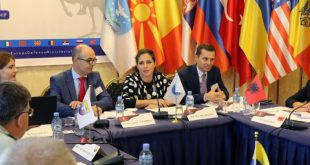 Shqipëria e merr kryesimin e Ministerialit të Mbrojtjes së Evropës Juglindore dhe SHBA-Karta e Adriatikut