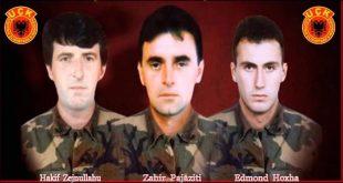 Me aktivitete tematike e përkujtimore sot u përkujtuan: Zahir Pajaziti, Hakif Zejnullahu dhe Edmond Hoxha