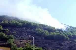 Zjarret po zgjerohen në Shqipëri ku pas Shëngjinit është përfshirë edhe Velipoja